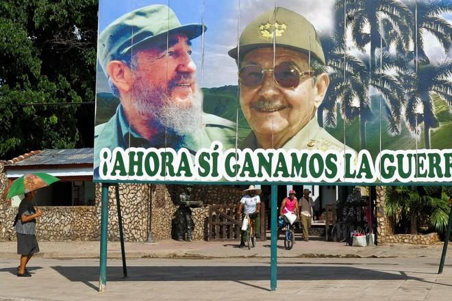 A partir de 19 de abril, Raúl Castro – irmão mais novo de Fidel, que morreu em 2016 – dará lugar para Miguel Díaz-Canel como presidente cubano | YAMIL LAGEAFP