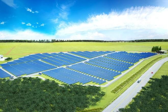 Projeto da usina fotovoltaica de Palmeira-PR. | FAADConsultoria/Divulgação