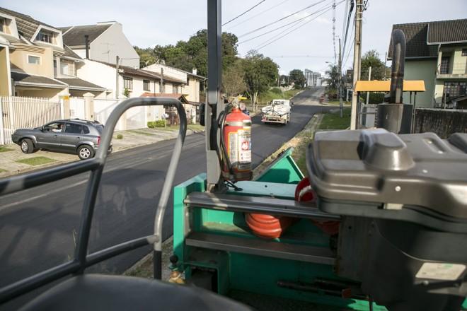 Obras em Curitiba ocorrem durante o dia | Marcelo Andrade/Gazeta do Povo
