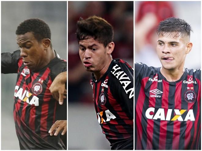 Ribamar, Rossetto e Bruno Guimarães: apostas para o futuro. | ArquivoGazeta do Povo