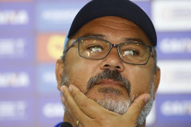 Rogério Micale, técnico do Paraná Clube. | /Jonathan Campos/Gazeta do Povo