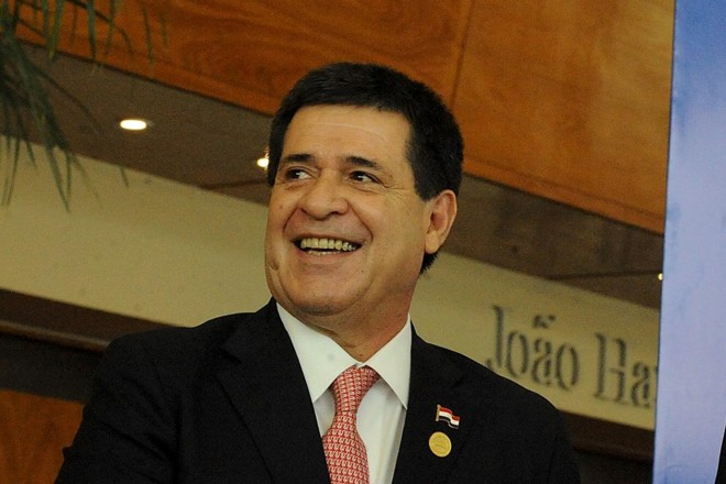 Presidente do Paraguai, Horacio Cartes | HANDOUTREUTERS