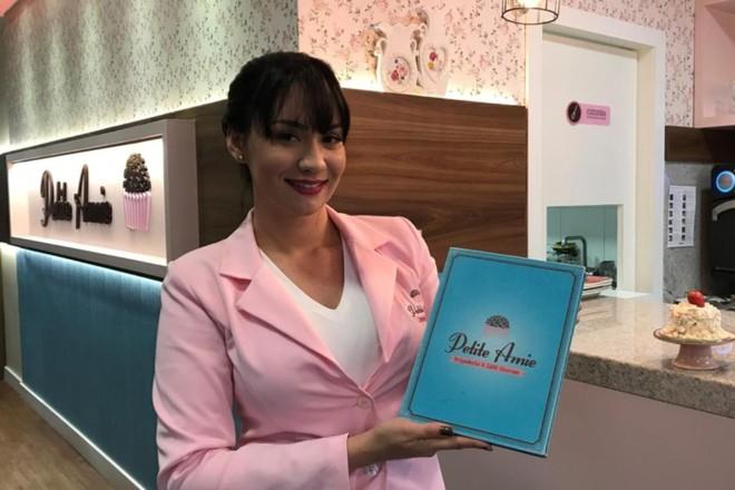 Ex-vendedora, Barbara Pavesi é a fundadora da Petite Amie | Divulgação