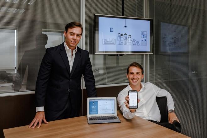 Bernardo Pizzatto Teixeira e Fabiano Rocha Loures são os fundadores da Onli. | Luiza Bogu/