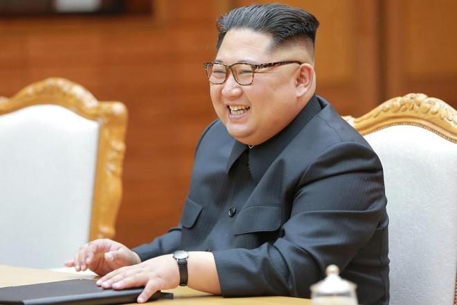 Ditador norte-coreano Kim Jong-un deverá encontrar-se com presidente americano no próximo mês | -AFP