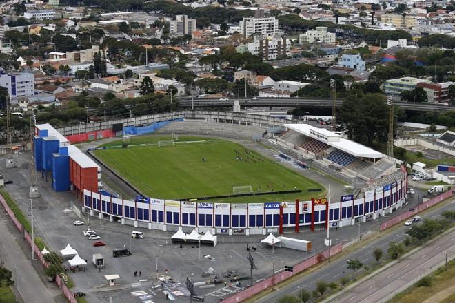 Vila Capanema e o longo litígio entre Paraná Clube e a União. | Jonathan Campos/Gazeta do Povo