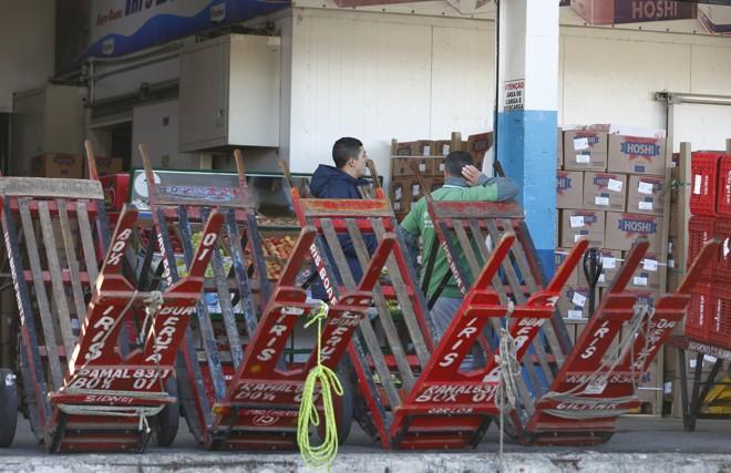 Ceasas de 22 estados foram afetados pela greve dos caminhoneiros. | Aniele Nascimento/Gazeta do Povo