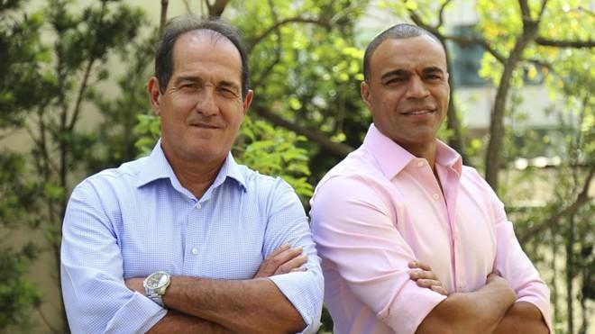 Muricy e Denílson estarão juntos na  Opera de Arame em Curitiba. | Divulgação/