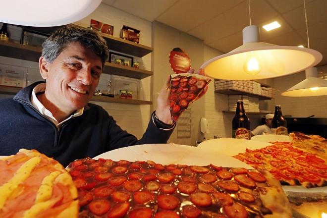Com fatias a partir de R$ 7,90 cada, a  meta com a Baggio Slice é faturar R$ 50 mil nos primeiros seis meses. | Albari Rosa/Gazeta do Povo