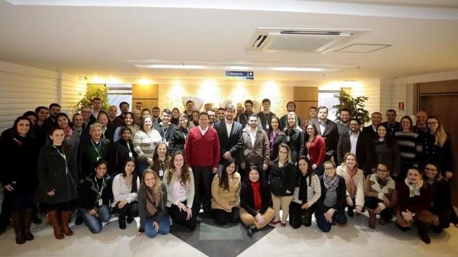 Com 370 colaboradores, oSicoob  Metropolitano conta com 80% de jovens de até 34 anos em seu quadro de funcionários. | Divulgação/Sicoob Metropolitano