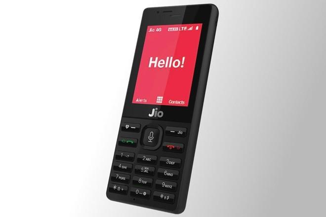 Jio Phone, o campeão de vendas da Índia. | Reliace Jio/Divulgação