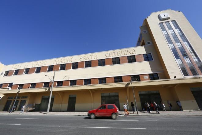 Edifício Teixeira Soares, antiga sede da Rede Ferroviária, agora será o novo campus Rebouças da UFPR. | Aniele Nascimento/Aniele Nascimento