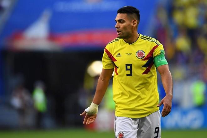 Falcão Garcia passou em branco na vitória colombiana | MANAN VATSYAYANA/AFP