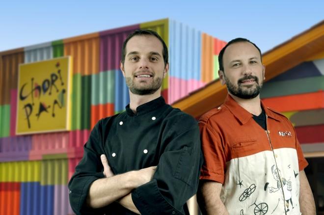 Ideia do Choripan é da dupla João Scalzo, chef de cozinha, e Carlos Fracaro, bartender. | Marcelo Le/
