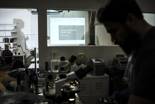 Genspace, um laboratório de biohacking em Nova York  