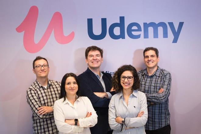 Equipe da Udemy no Brasil | Divulgação/ Udemy