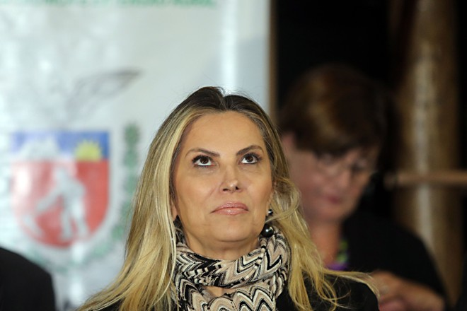 A governadora do Paraná, Cida Borghetti (PP) | Albari Rosa/Gazeta do Povo