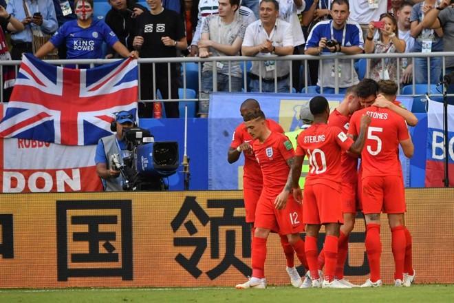 Inglaterra está na semifinal da Copa pela primeira vez desde 1990 | EMMANUEL DUNAND/AFP