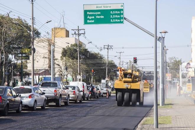 As obras acontecem na Avenida Prefeito Omar Sabbag, e devem  complicar trânsito no Viaduto do Capanema e região | Valdecir Galor/SMCS/