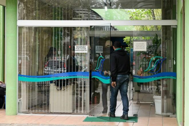 Agentes do Gaeco atuam na sede do IAP, em Curitiba | Henry Milléo/Gazeta do Povo /