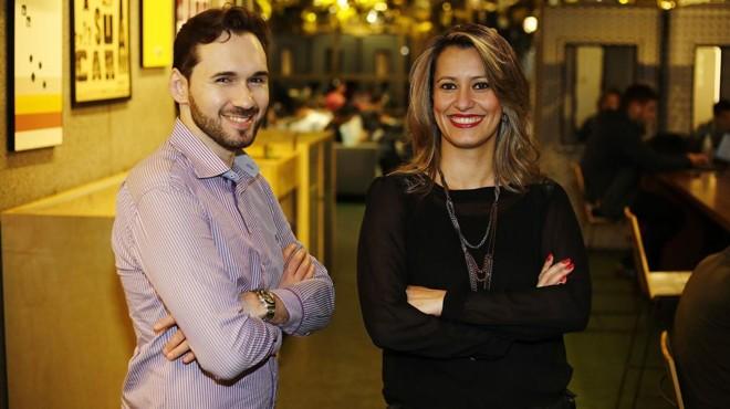 Everton Höpner Pereira e  Tatiana Pimenta deixaram o mercado corporativo para fundar a startup Vittude em  2016. Startup foi umas 10 selecionadas para  o programa de aceleração da Artemisia em parceria com o Facebook. | Paulo Liebert/DivulgaçãoVittude