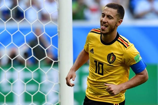 Hazard marcou o segundo gol do jogo, três no Mundial | GIUSEPPE CACACE/AFP