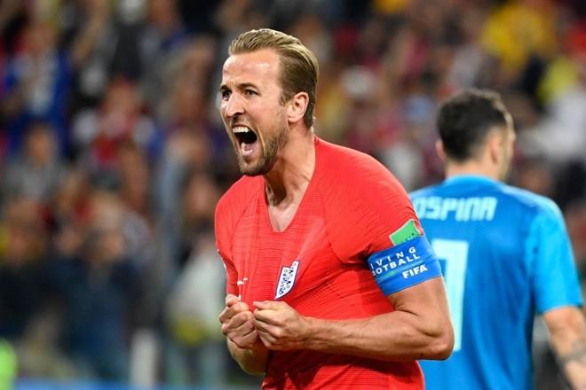 Harry Kane fez o gol da vitória da Inglaterra | ALEXANDER NEMENOV/AFP