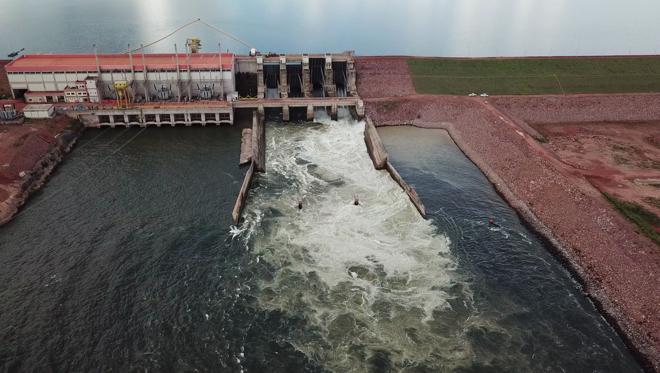 Imagem da usina de Colíder, em Mato Grosso | Divulgação/Copel