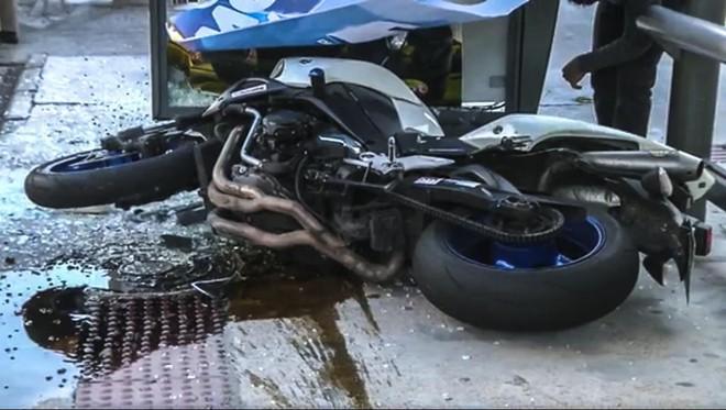 O pai confirmou em depoimento à polícia que havia emprestado a moto para o filho minutos antes do acidente | Reprodução/RPC TV