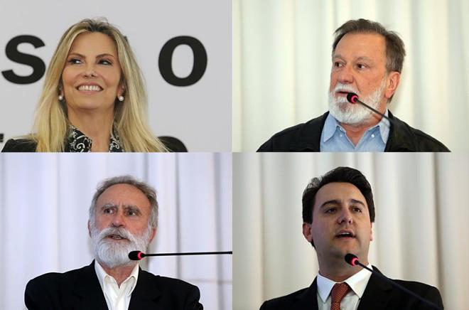 Sabatina foi realizada com os quatro principais concorrentes ao Palácio Iguaçu. | Albari Rosa/Gazeta do Povo