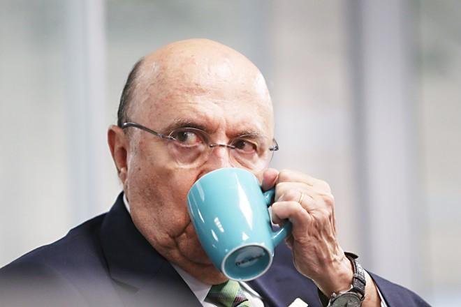 Ex-ministro Henrique Meirelles diz que não existe a possibilidade de desistir da candidatura para ser vice em  outra chapa.   Albari Rosa/Gazeta do Povo