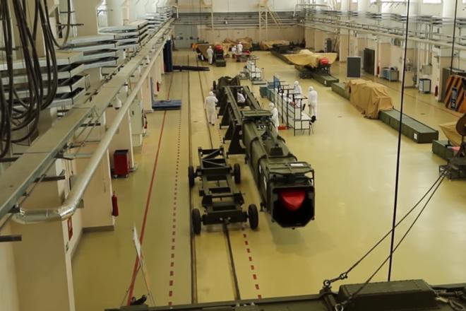 Trecho do vídeo do míssil de cruzeiro Burevestnik, publicado pelo Ministério da Defesa russo | Reprodução/Youtube