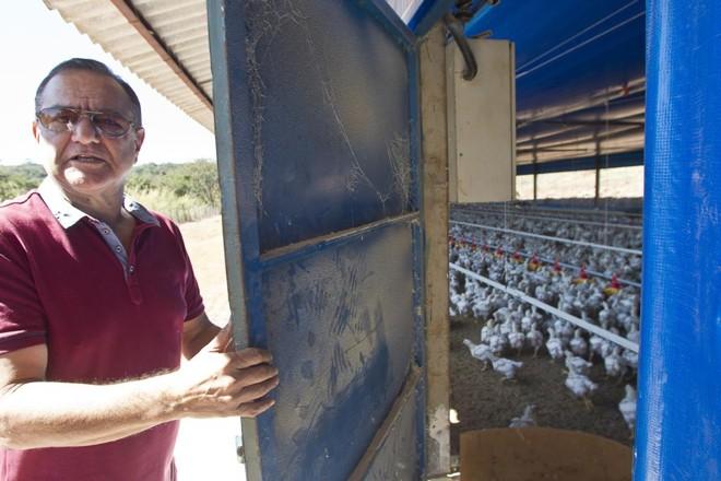 Wayne Franco, avicultor de Pará de Minas | Daniel Caron/Gazeta do Povo