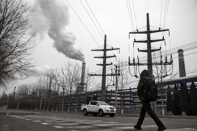 China é o país que mais emite gás carbônico no mundo: 27,6% do total, segundo levantamento do conglomerado energético BP | Qilai Shen/Bloomberg