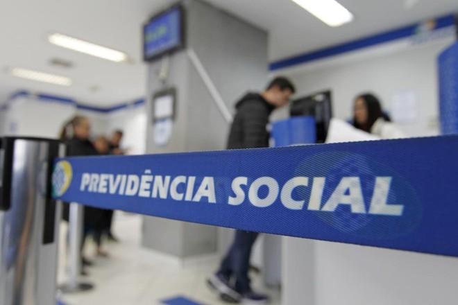 Agência do INSS em Curitiba. | Antônio More/Gazeta do Povo