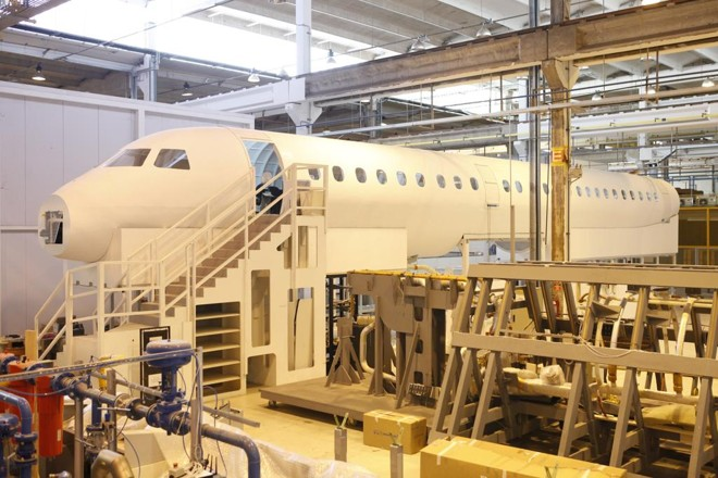 Fabricação da famílias de jatos E 2, que levam até 132 passageiros. Nos próximos 20 anos, haverá uma demanda global por 10.550 novas aeronaves de até 150 assentos. | EMBRAER/DIVULGAÇÃO