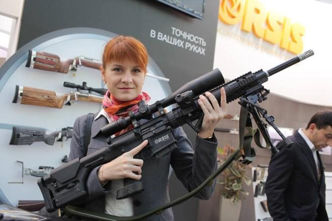 Maria Butina, em Moscou, em outubro de 2013 | Arquivo pessoalReprodução/Facebook Maria Butina