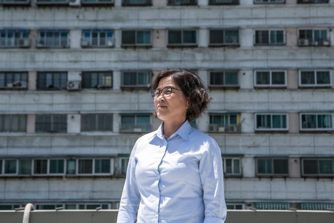 Heo Yeong-hui é uma desertora da Coreia do Norte, cujo marido e filho foram capturados por autoridades chinesas enquanto tentavam chegar à Coreia do Sul   Jean Chung/Washington Post