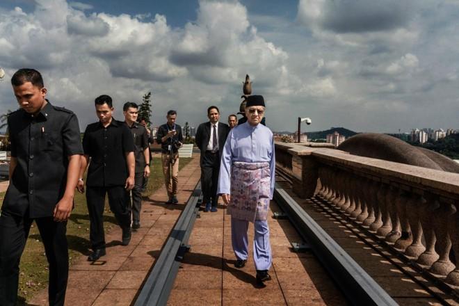 Mahathir Mohamad, novo primeiro-ministro da Malásia, já esteve no poder no país do Sudeste Asiático, entre 1981 e 2003   ADAM DEAN/NYT