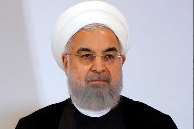Hassan Rouhani, presidente do Irã   Stefan Wermuth/Bloomberg