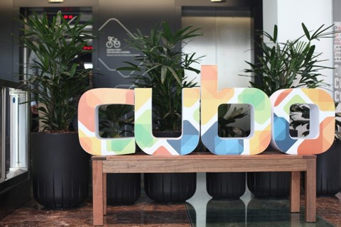 Detalhe da nova sede do Cubo, em São Paulo. | Valéria Bretas/Gazeta do Povo