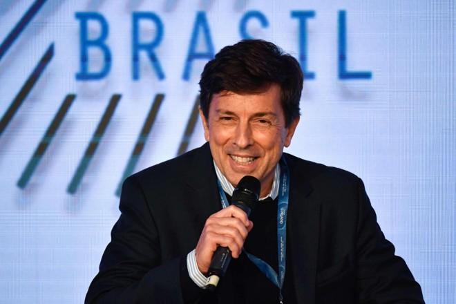 Candidato do Novo à Presidência, João Amoêdo quer conquista eleitor 'moderado' de Bolsonaro, 'desencantado' com o PSDB e os indecisos | Nelson Almeida/AFP