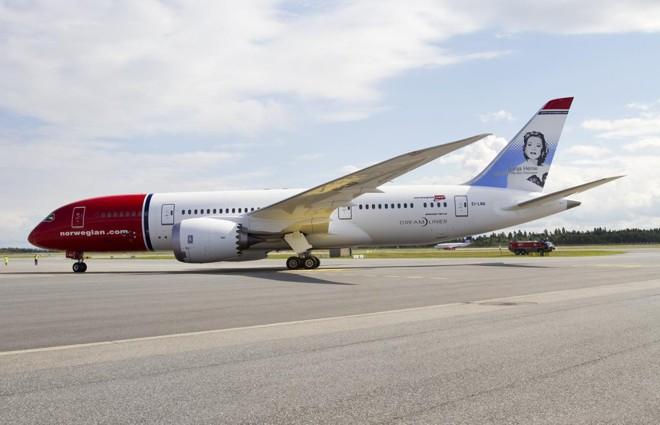 Boeing 787 Dreamliner é um dos aviões usados pela companhia. | Norwegian Air UK/Divulgação