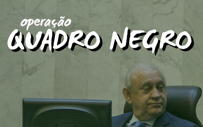 Ademar Traiano (PSDB) durante sessão na Assembleia Legislativa do Paraná: sob investigação. | Marcelo Andrade/Gazeta do Povo