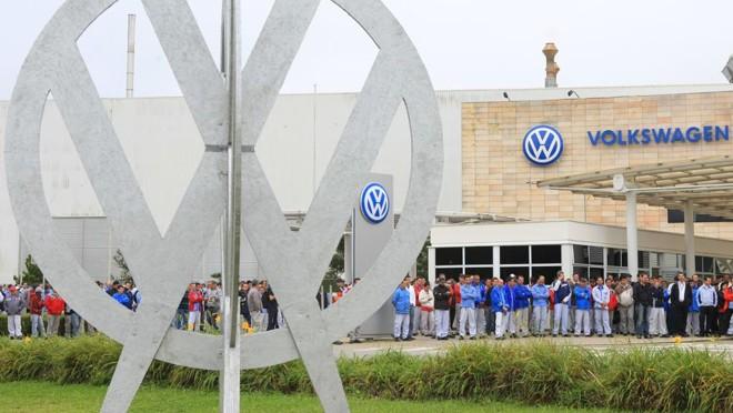 Fábrica da Volkswagen em São José dos Pinhais, na região metropolitana de Curitiba. | IVONALDO ALEXANDRE/Gazeta do Povo