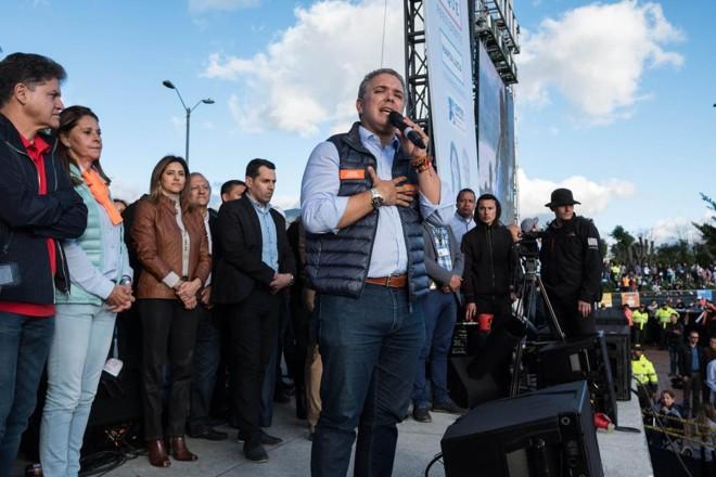 O direitista Iván Duque assumirá nesta terça (7) a presidência da Colômbia | Mauricio Palos/Bloomberg