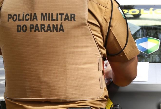 Efetivo administrativo da Polícia Militar do Paraná tem escala reduzida às quartas-feiras para compensar horas extras trabalhadas nas ruas.   Aniele Nascimento/Gazeta do Povo