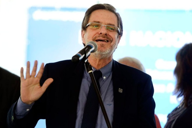 O reitor da UFRJ, Roberto Leher | Tomaz Silva/Agência Brasil