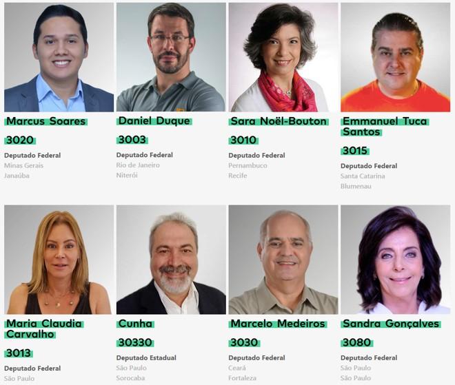 | Reprodução/Partido Novo - Site Oficial