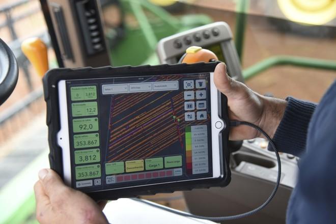 Agricultura de precisão se refere à adoção de GPS, Big Data e inteligência artificial para impulsionar as produtividades.   Cristiano Borges/Divulgação Climate Corporation